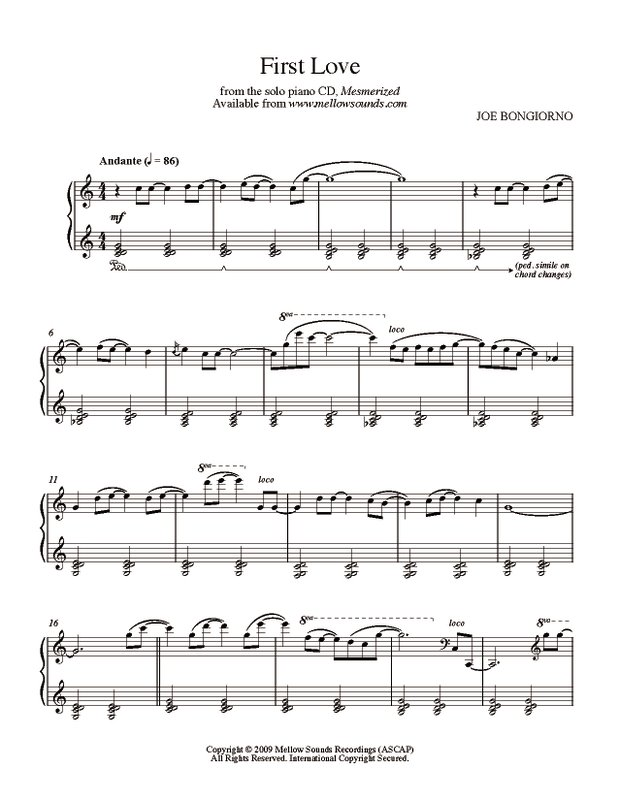 Love song piano sheet music pdf orpheus flute sheet for First house music song
